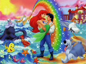 Walt Disney người hâm mộ Art - The Little Mermaid