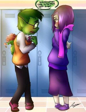 the only teen titans GO picture i like after watching teen titans