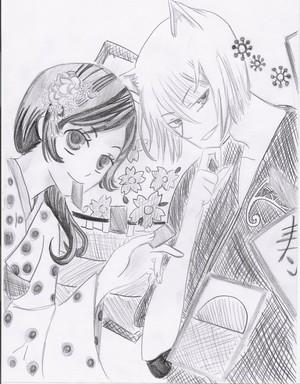 tomoe and nanami kamisama hajimemashita por mitsusuki d5i0ab1