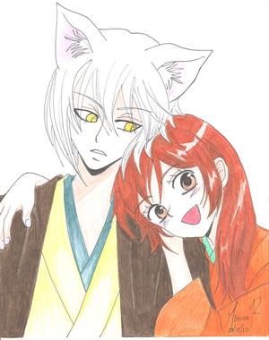tomoe y nanami kamisama hajimemashita によって monik13inu d683p3u