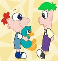 wittle phineas and ferb by rattysrule d46n7bq - phineas-and-ferb photo