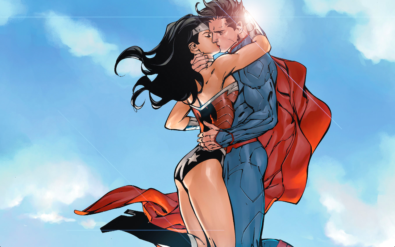 wonder woman Superman KISS Von xionice