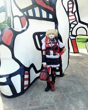 Harley quinn arkham knight cosplay