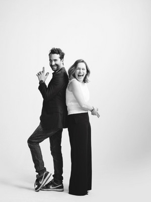 'Actors on Actors' Portrait of сойка, джей Duplass and Emilia Clarke from Variety