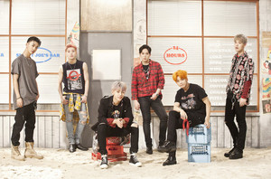 B.A.P's 'Put Em Up' Official 写真