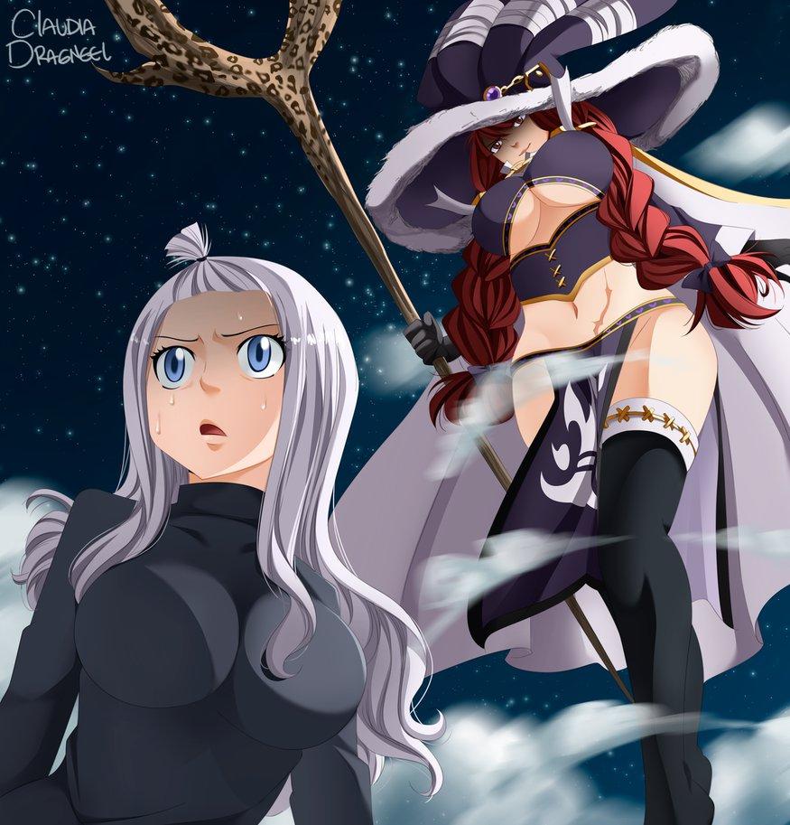 Fairy Tail Bilder Mirajane V S Irene Hd Hintergrund And Background