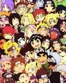 - Naruto Cast Chibi - - naruto fan art