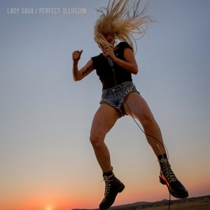 """Perfect Illusion"" cover art"