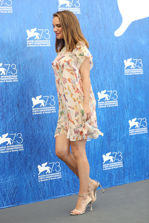 'Planetarium' photocall during the 73rd Venice Film Festival at Palazzo del Casino in Venice, I