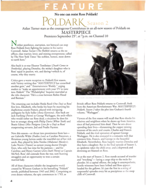 Poldark (Fine Tuning - Sept. 2016 article)