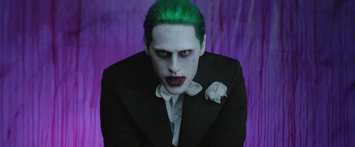 Suicide Squad वॉलपेपर containing a well dressed person titled 'Purple Lamborghini' संगीत Video - The Joker