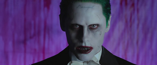 Suicide Squad 壁纸 with a business suit called 'Purple Lamborghini' 音乐 Video - The Joker