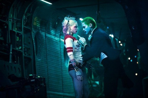 Suicide Squad wallpaper probably with a concerto and a strada, via called 'Suicide Squad' Still ~ Harley Quinn and The Joker