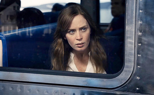 "Book to Screen Adaptations fondo de pantalla titled ""The Girl on The Train"" Cast: Rachel Watson"