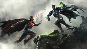 19618 Superman vs Batman injustice gods among us 1920x1080 game fond d'écran