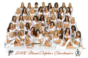 2008 Miami Dolphins Cheerleaders