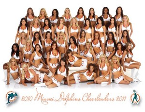 2010 Miami Dolphins Cheerleaders