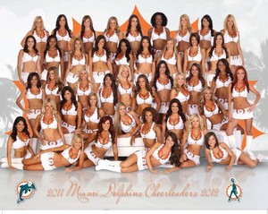 2011 Miami Dolphins Cheerleaders