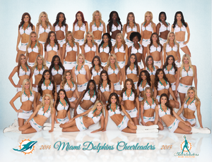 2014 Miami Dolphins Cheerleaders