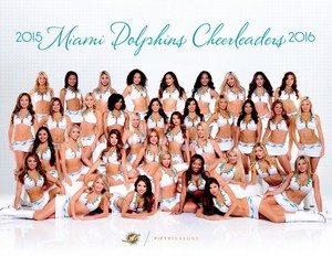 2015 Miami Dolphins Cheerleaders