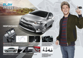 2016 Toyota Vios Thai brochure  - one-direction wallpaper