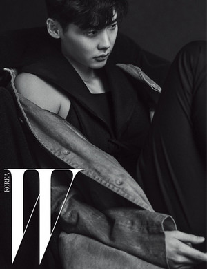 ADDITIONAL hình ảnh OF LEE JONG SUK FOR W KOREA