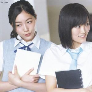 AKB48 Liebe TRIP Matsui Jurina andYamamoto Sayaka