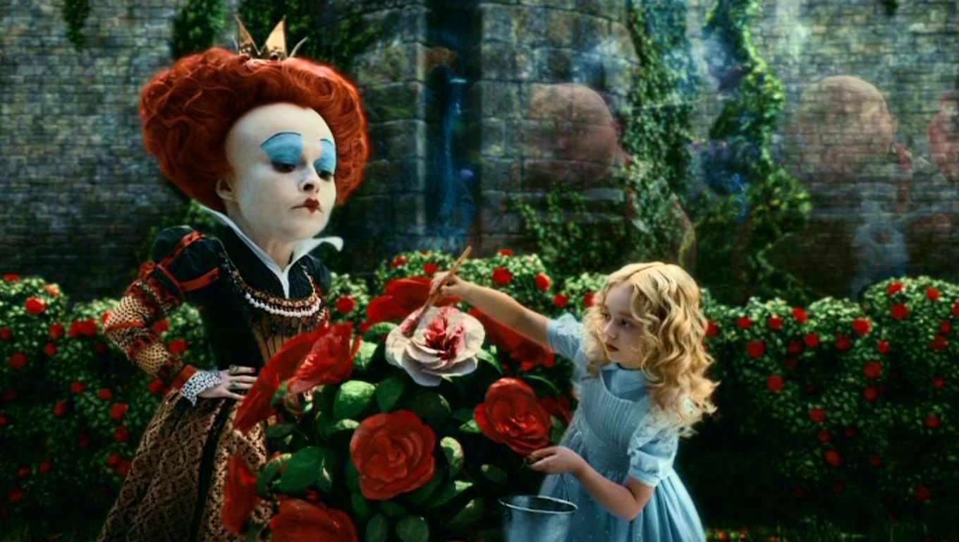 an analysis of charlie and the chocolate factory and alice in wonderland two movies by tim burton