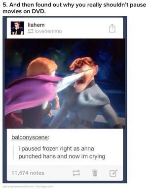 Anna Punching Hans