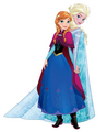Anna & Elsa - Sisters are Magic