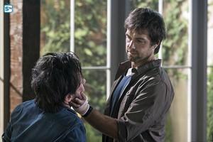 Antony Starr as Garrett Hawthorne in American 고딕