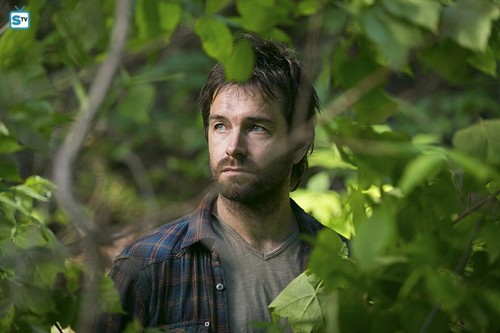 Antony Starr 壁纸 probably containing a 香蕉 titled Antony Starr as Garrett Hawthorne in American 哥特式