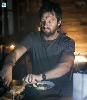 Antony Starr as Garrett Hawthorne in American gothique