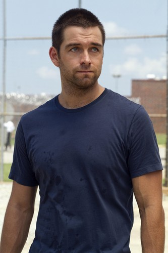 Antony Starr wallpaper probably with a jersey called Antony Starr as Lucas capuz, capa in 'Banshee'