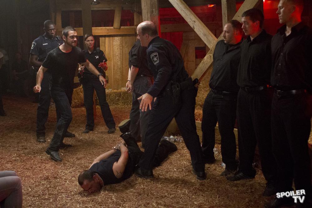 Antony Starr as Lucas ঘোমটা in 'Banshee'