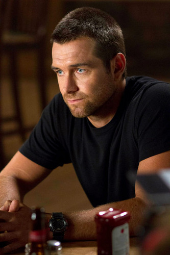 Antony Starr wallpaper titled Antony Starr as Lucas kap, hood in 'Banshee'