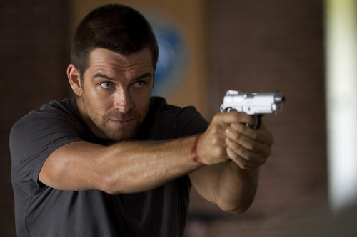 Antony Starr wallpaper called Antony Starr as Lucas kap, hood in 'Banshee'