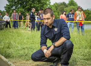Antony Starr as Lucas capuz, capa in 'Banshee'