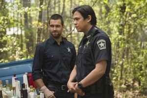 Antony Starr as Lucas капот, худ in 'Banshee'