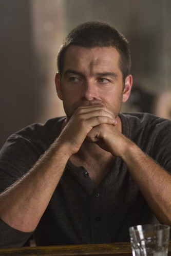 Antony Starr wallpaper entitled Antony Starr as Lucas kap, hood in 'Banshee'