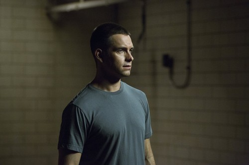 Antony Starr 壁紙 possibly with a 大きな塊, ハンク entitled Antony Starr as Lucas フード in 'Banshee'