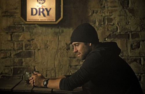 Antony Starr Обои with a улица, уличный called Antony Starr as Lucas капот, худ in 'Banshee'