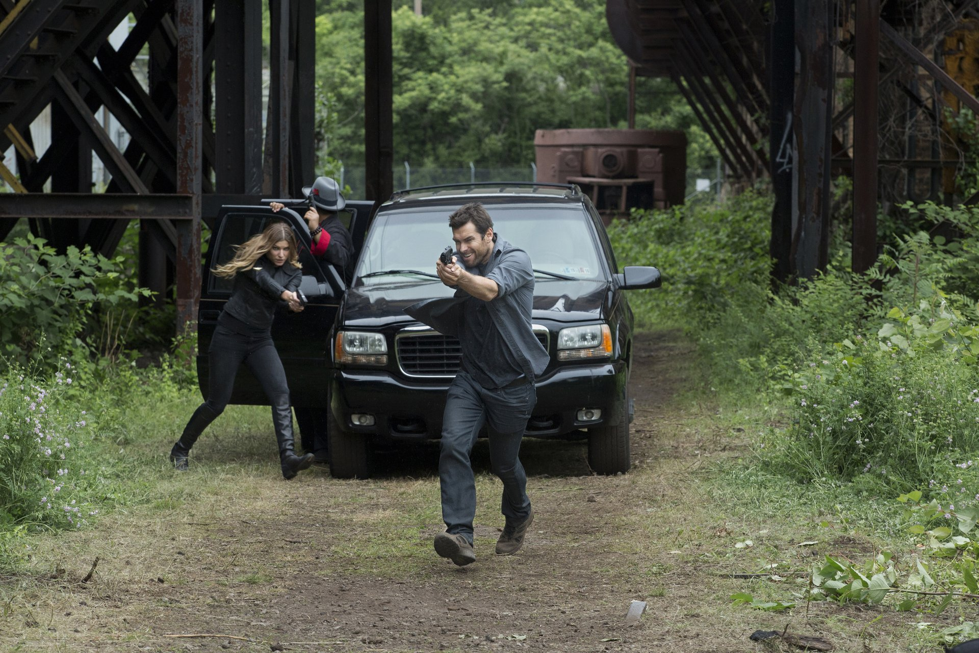 Antony Starr as Lucas cappuccio in 'Banshee'