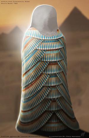 Apocalypse's Ceremonial robe- Concept Art