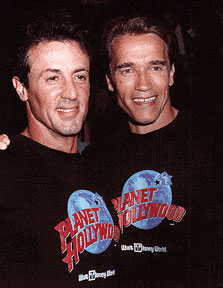 Arnold and Sylvester