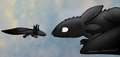 Axolotl and Toothless