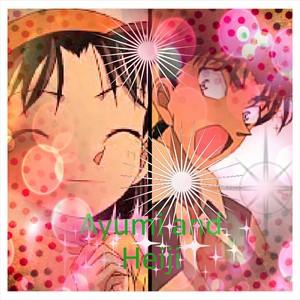 Ayumi loves Heiji