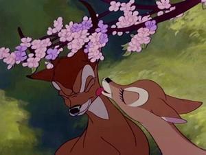Bambi and Faline