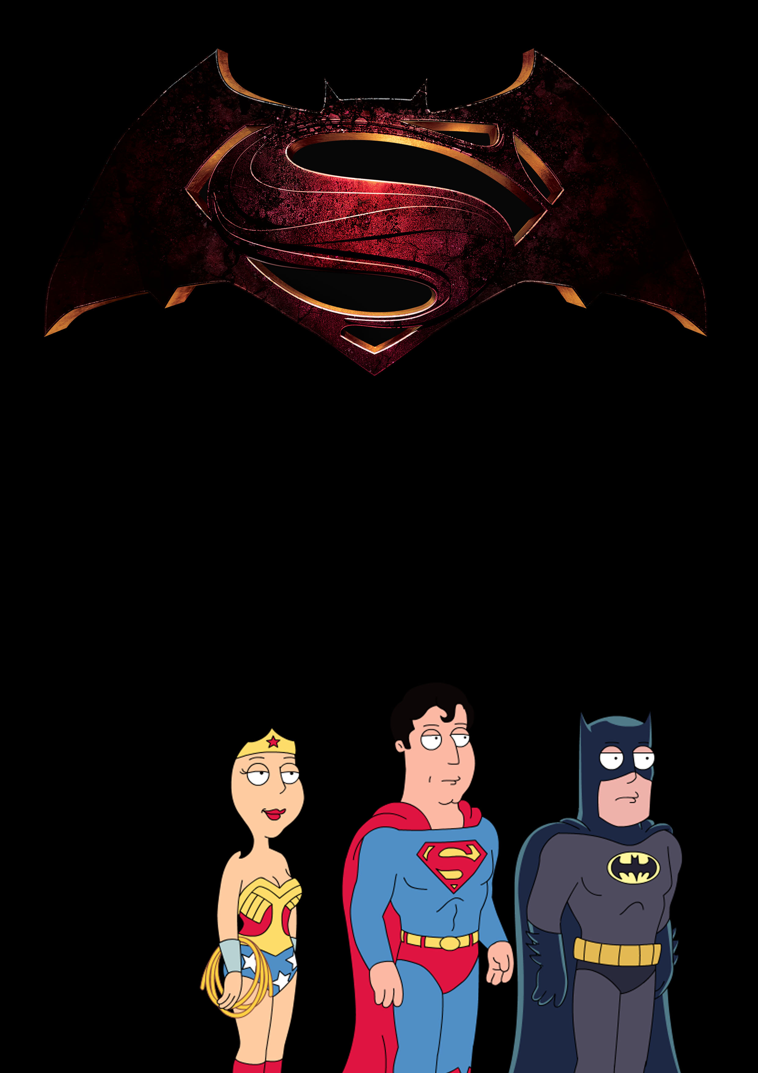 family guy images batman v superman: dawn of justice hd wallpaper