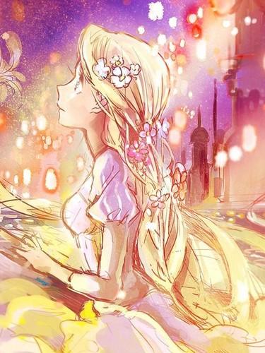 डिज़्नी प्रिन्सेस वॉलपेपर called टैंगल्ड - Rapunzel